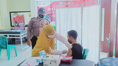 Polres Padang Panjang Buka Gerai Vaksinasi