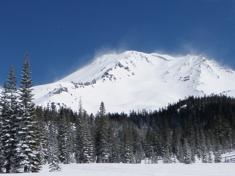 Mount Shasta • Casaval Ridge and Avalanche Gulch