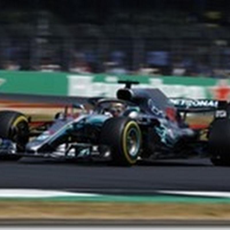 GP di Gran Bretagna: Hamilton in pole davanti alle Ferrari