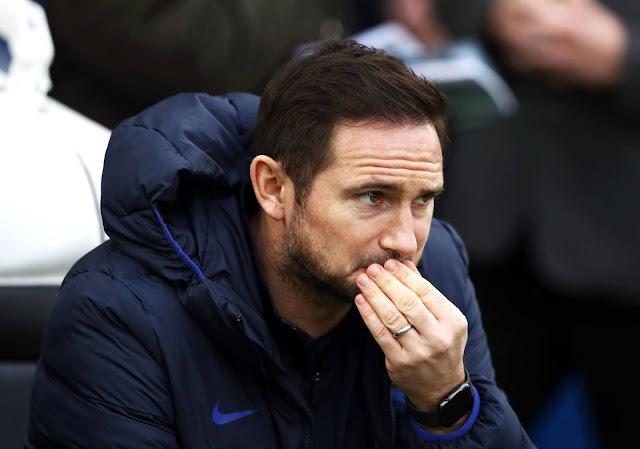 Frank Lampard 'bimbang' setelah kekalahan kelima dalam lapan perlawanan EPL.