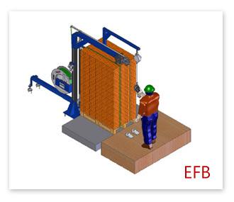 半自動塑鋼帶打包機EFB