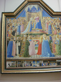 The Coronation of the Virgin, Fra Angelico