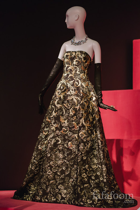 Oscar de la Renta, Evening dress, Fall 2014.