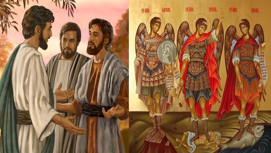 Các thiên thần của Thiên Chúa