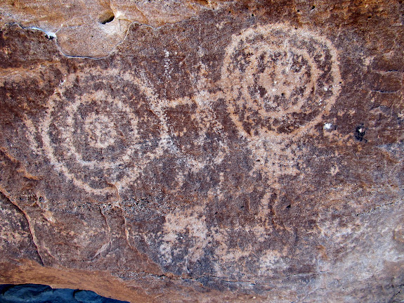 Petroglyphs near Little Cedar Mountain