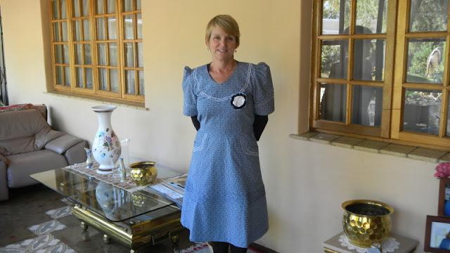 Traditional Botswana dress