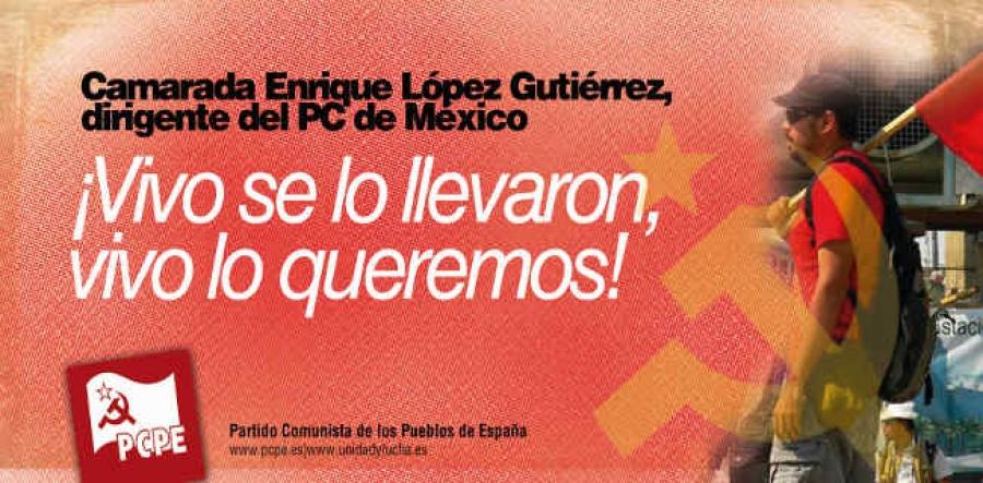 Solidaridad con el PC de México