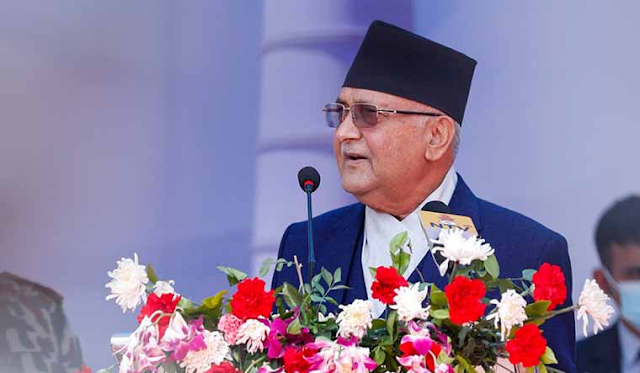 K P Sharma Oli was sworn in as Nepal's Prime Minister for the third time on Friday