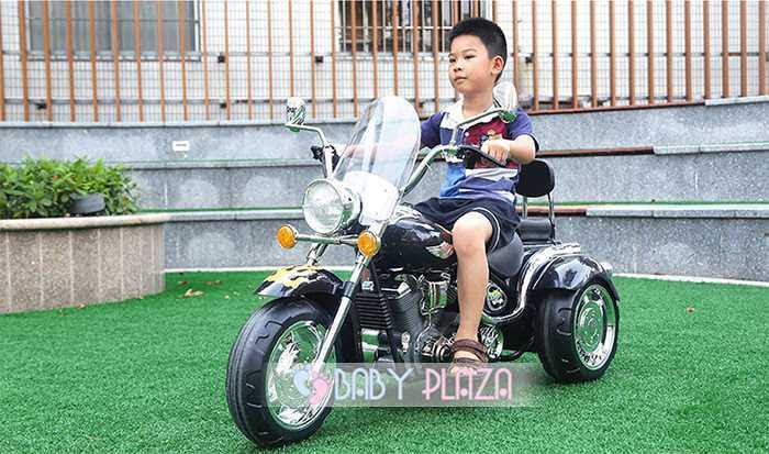 Mô tô điện trẻ em cảnh sát YH-8801