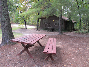 Photo: Yoki Unit Picnic Area, Unit House and Volleyball/Basketball area