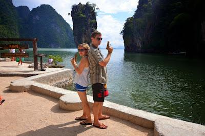 Lauren and me at James Bond Island