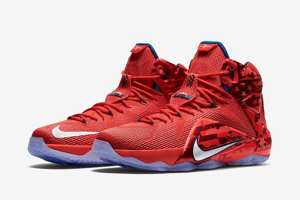 3d006807effd Release Reminder  Nike LeBron XII (12) 4th of July