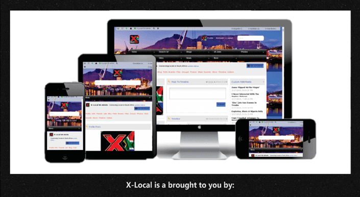 X-Local SA, a social network for locals in South Africa