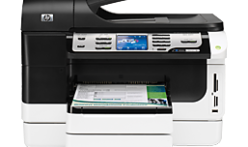 Tips for download and install HP Officejet Pro 8500/A909a / A909b lazer printer installer