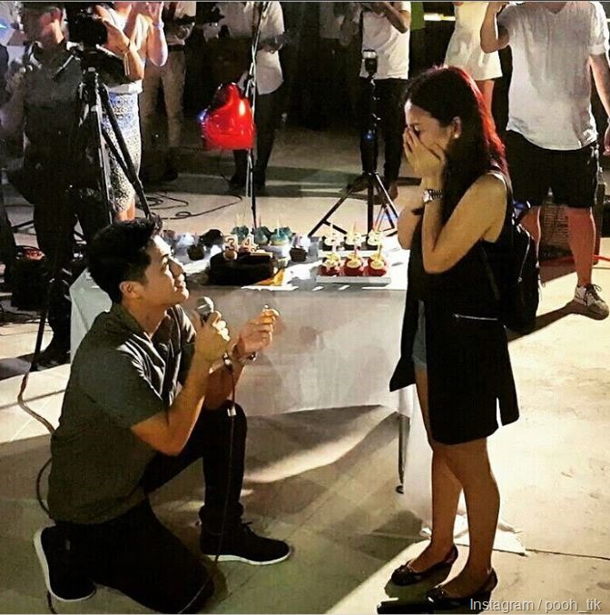 Paul Jake Castillo proposes to Kaye Abad