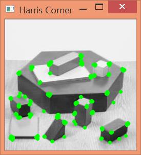 Método de Harris para detectar esquinas