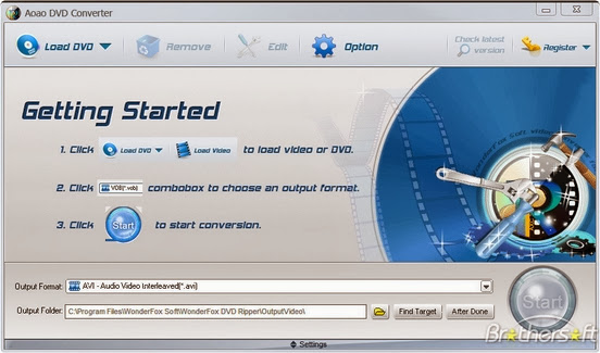 WonderFox DVD Video Converter 5.1 Conversor de video 2013-12-26_17h41_41