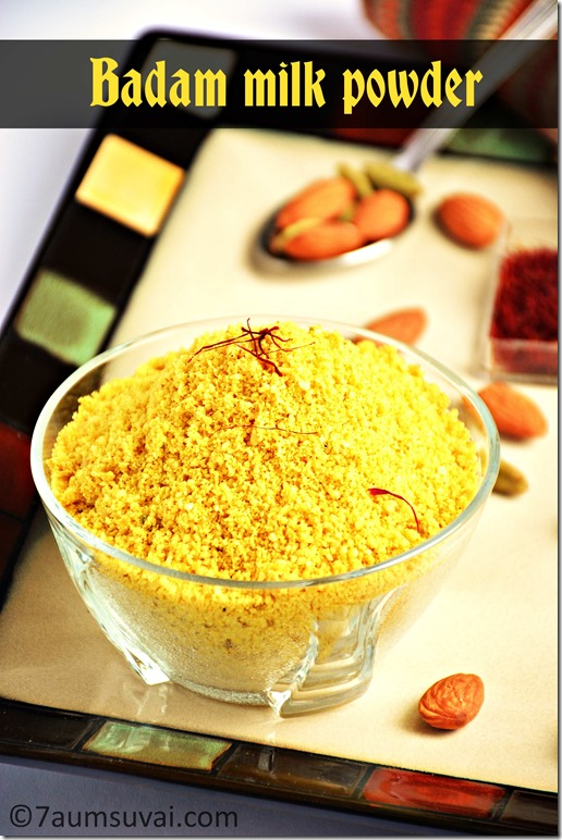Badam milk powder / Instant almond milk powder