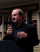 Salman Rushdie Presenting His Book Shalimar The Clown
