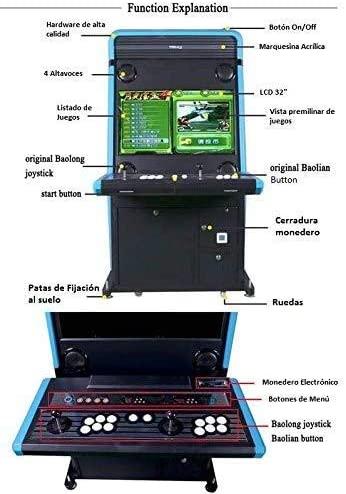Maquina Arcade recreativa Retro