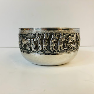 South American Silver Bowl