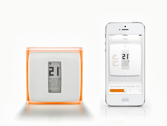 Thermostat et Smartphone