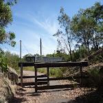 Barrier fencing near the over bridge on the coastal walk (388892)