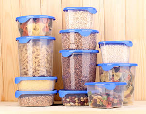 Top tips for arranging food storage containers