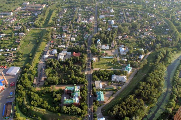 Земляные валы в Переславле