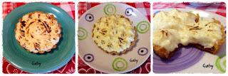 Crostatine con confettura e crema chiboust al limone