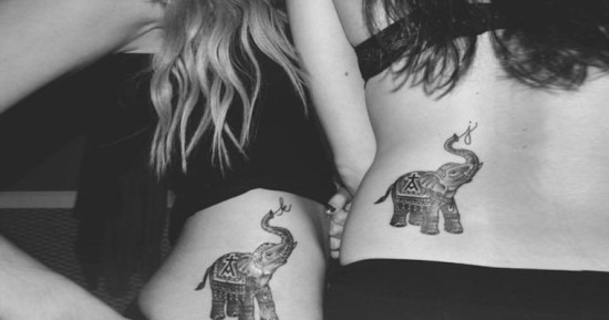 correspondncia_de_elefante_melhores_amigos_tatuagem