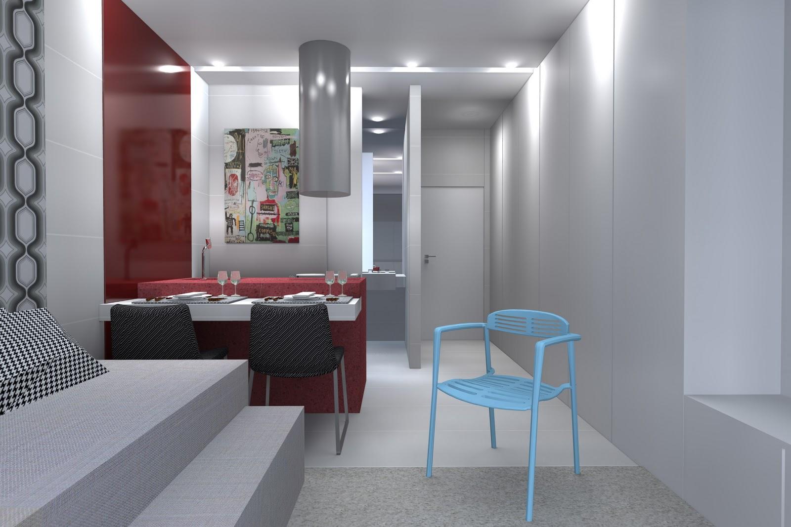 Embutidos Na Bancada Frigobar E Microondas Completam A Bancada De #653538 1600x1067 Bancada Banheiro Profundidade