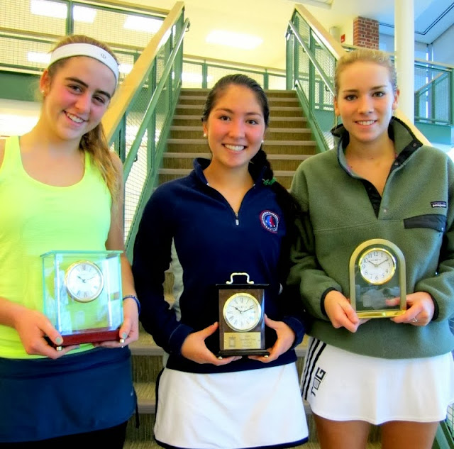 GU 19 winner Sarah Bell, finalist Samantha Chai, and 3rd place finisher Addie Fulton