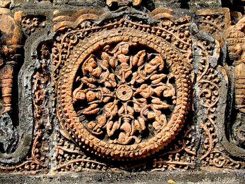 Decoration at Kantaji Temple wall