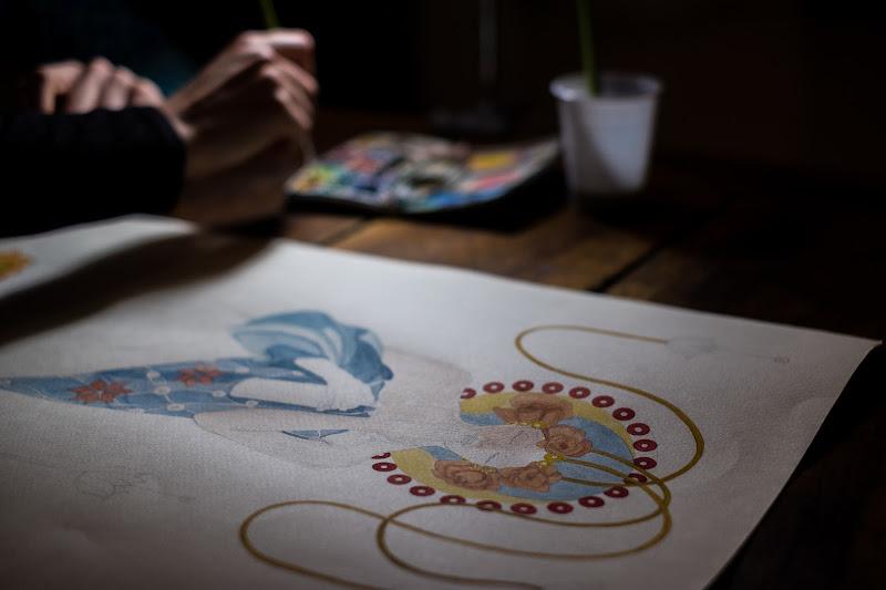Il disegno è l'arte di condurre una linea a fare una passeggiata. (Paul Klee) di Picchiolino