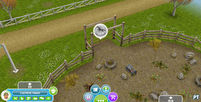 Sims FreePlay The Hidden Unicorn - Show Jumping gate