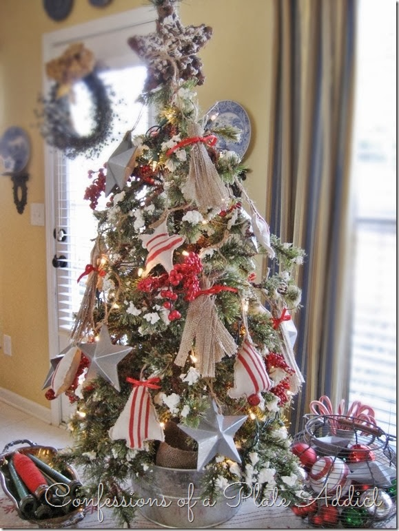 CONFESSIONS OF A PLATE ADDICT A Farmhouse Christmas Tree