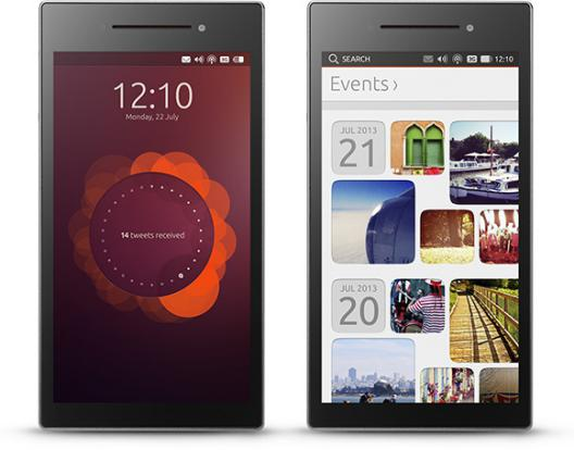 Ubuntu Edge phone concept