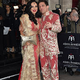 OIC - ENTSIMAGES.COM - Nikki Manashe and Alex Reid at the The Asian Awards in London 7th April  2016 Photo Mobis Photos/OIC 0203 174 1069