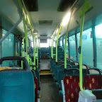 het interieur van de VDL ambassador van pouw bus 102/4191