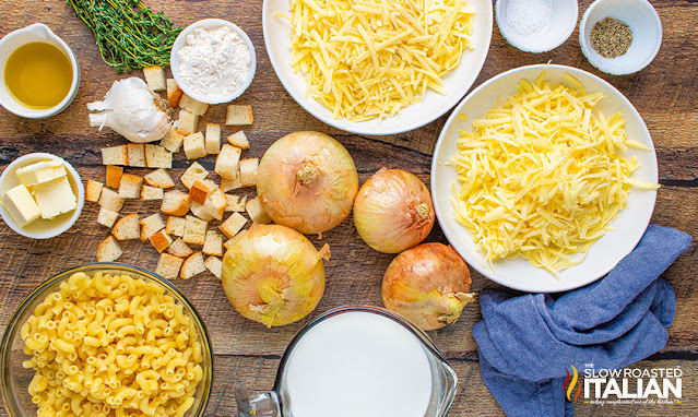baked mac and cheese ingredients