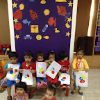 Playgroup celebrated Colour Day at Witty World (2015-16)