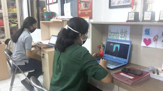 Putus Mata Rantai Covid-19, SDS Ananda Bekasi Berikan Rapor Virtual
