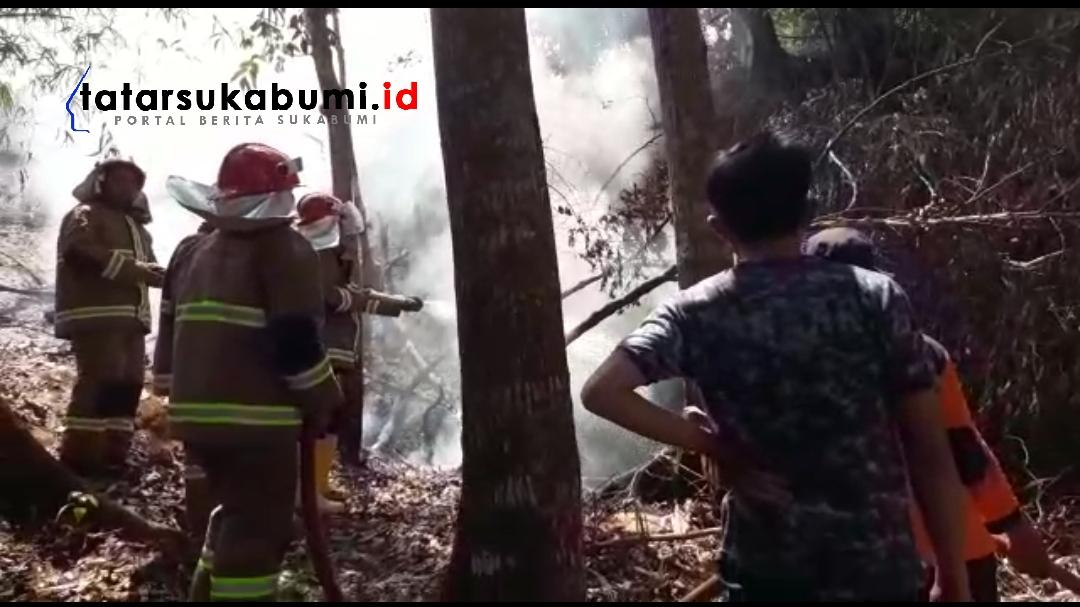 Kebakaran Lahan di Kota Sukabumi