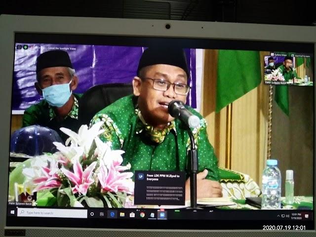 PWM Sulbar Usul Muktamar Online
