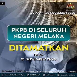 PKPB Melaka Di Tamatkan lebih awal!