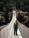 And here's the cool suspension bridge!