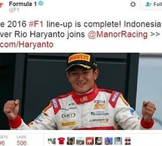akhirnya rio haryanto resmi jadi pembalap f1 full season