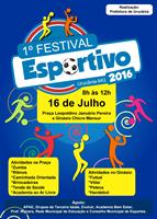 CARTAZ FESTIVAL ESPORTIVO