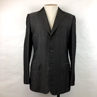 Gucci Wool/Mohair 3-Button Blazer